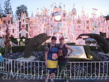 Tinkerbell half dland small world watermark copy