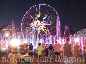 Tinkerbell half world of color watermark