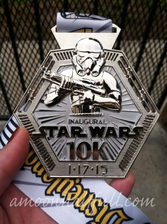 2015 SW 10K medal
