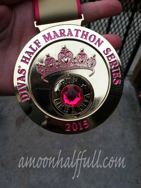 2015 Temecula Diva Half medal